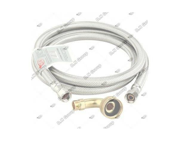 Dishwasher Braided Supply Line With Swivel Elbow 60 D